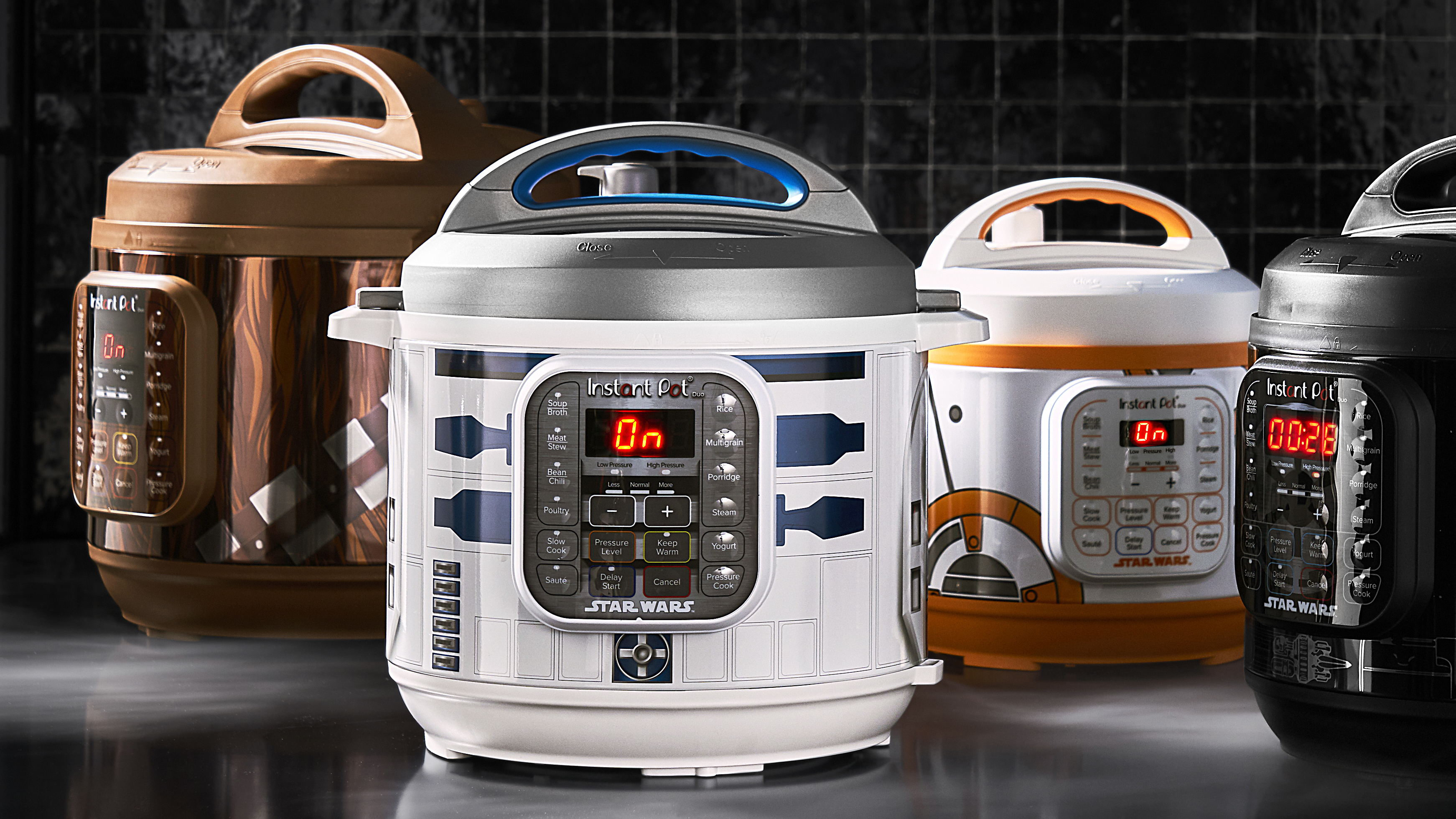 'Star Wars'-themed Instant Pots that look like R2-D2, Chewbacca now available for your rootleaf-stew needs