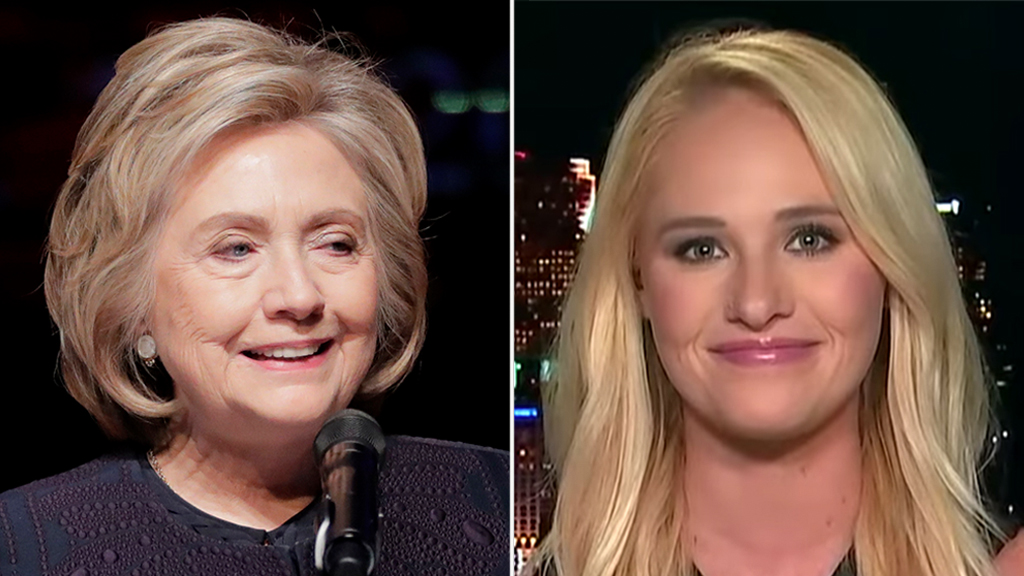 Tomi Lahren slams Hillary Clinton for decrying backlash against women: 'Talk about the pot calling the kett...