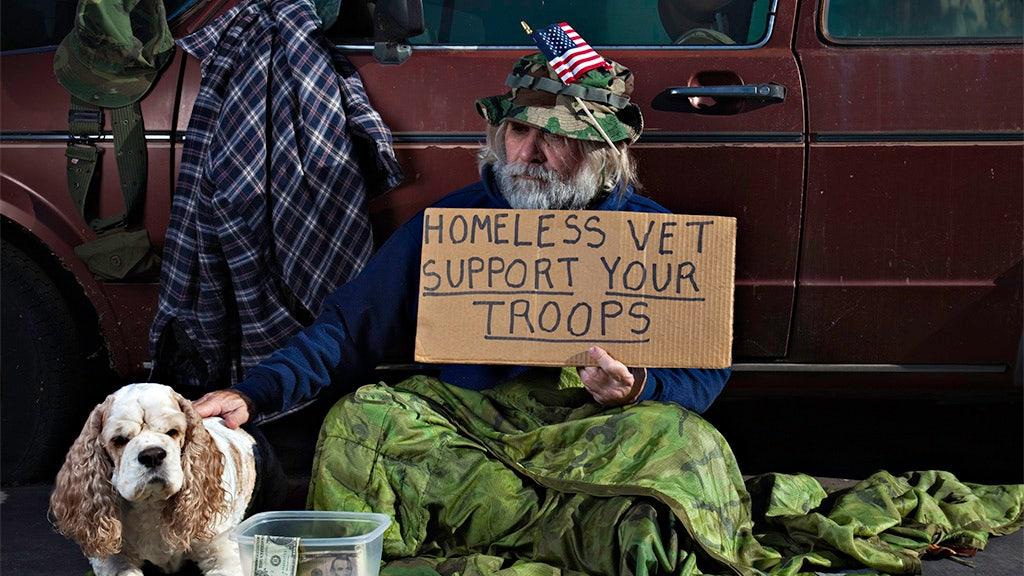 Homelessness among veterans dropped slightly in 2018, White House says