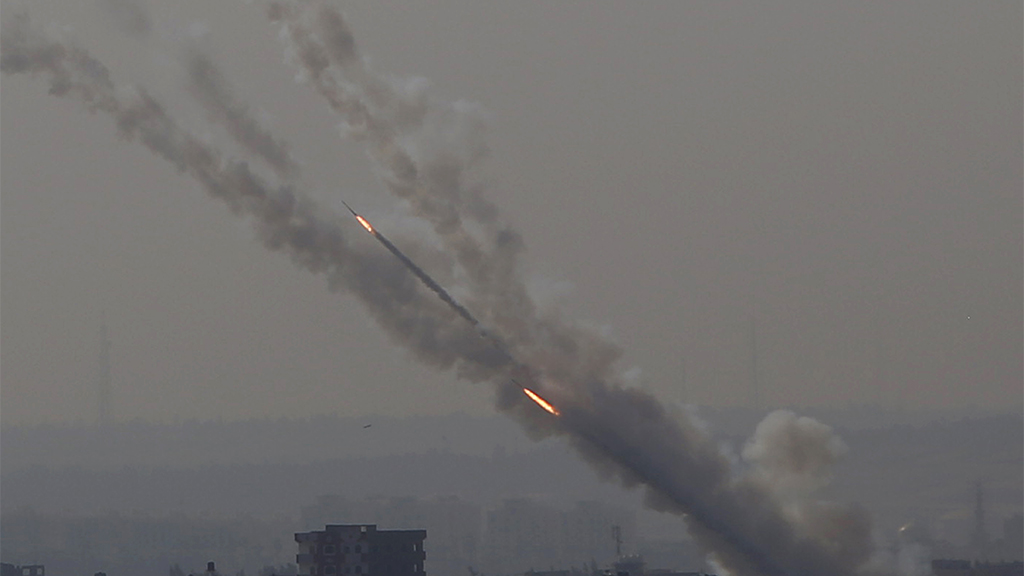More than 200 rockets fired into Israel from Gaza after Islamic Jihad leader killed