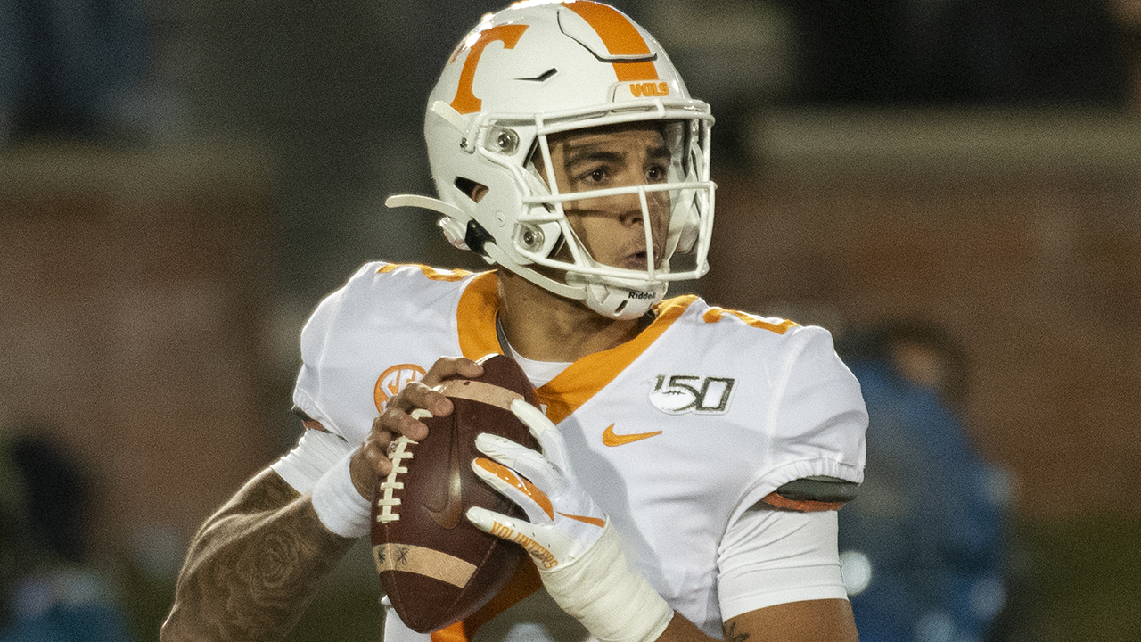 Westlake Legal Group Jarrett-Guarantano Tennessee's Jarrett Guarantano reveals he and his family got death threats earlier in the season Ryan Gaydos fox-news/sports/ncaa/tennessee-volunteers fox-news/sports/ncaa-fb fox-news/sports/ncaa fox news fnc/sports fnc article 12f2cf9a-9a4f-5c43-a648-4e570dc11ce2
