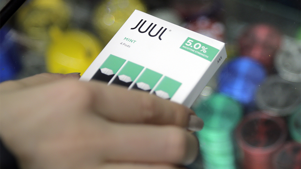 Juul stops US sales of mint-flavored e-cigarettes