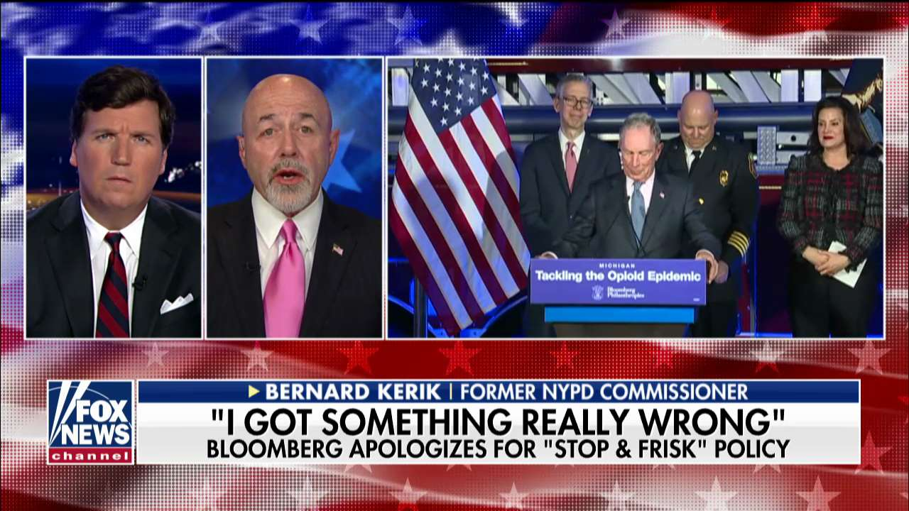 Westlake Legal Group KerikMB Ex-NYPD commissioner: Bloomberg 'stop-and-frisk' apology shows he forgot its success fox-news/us/us-regions/northeast/new-york fox-news/us/crime/police-and-law-enforcement fox-news/travel/vacation-destinations/new-york-city fox-news/shows/tucker-carlson-tonight fox-news/politics/state-and-local fox-news/person/michael-bloomberg fox-news/media/fox-news-flash fox-news/media fox news fnc/media fnc Charles Creitz article 2211d677-f692-5615-a869-35b52beccfc4