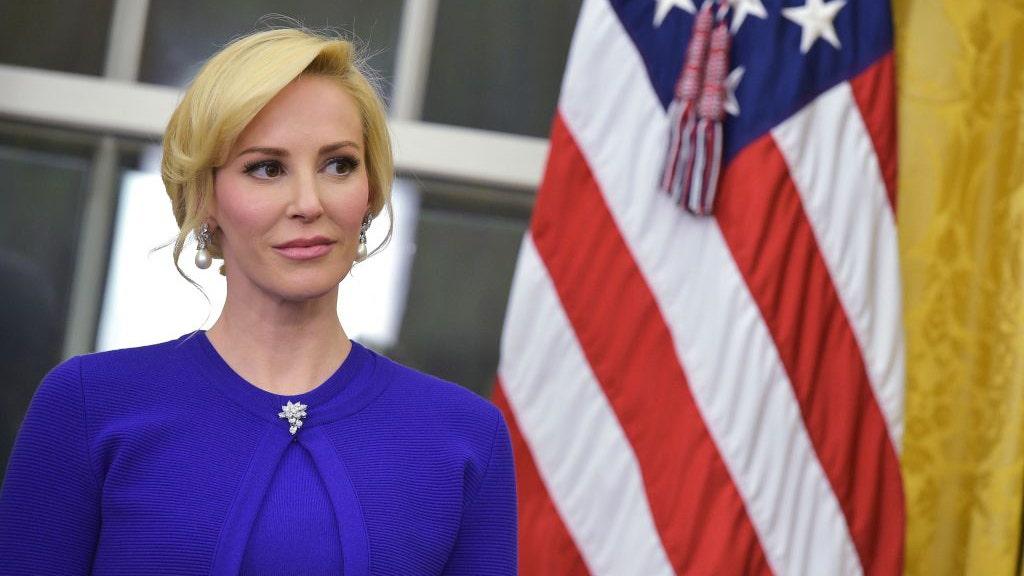 Louise Linton, wife of Treasury Secretary Steven Mnuchin, takes aim at Trump administration over trophy hun...