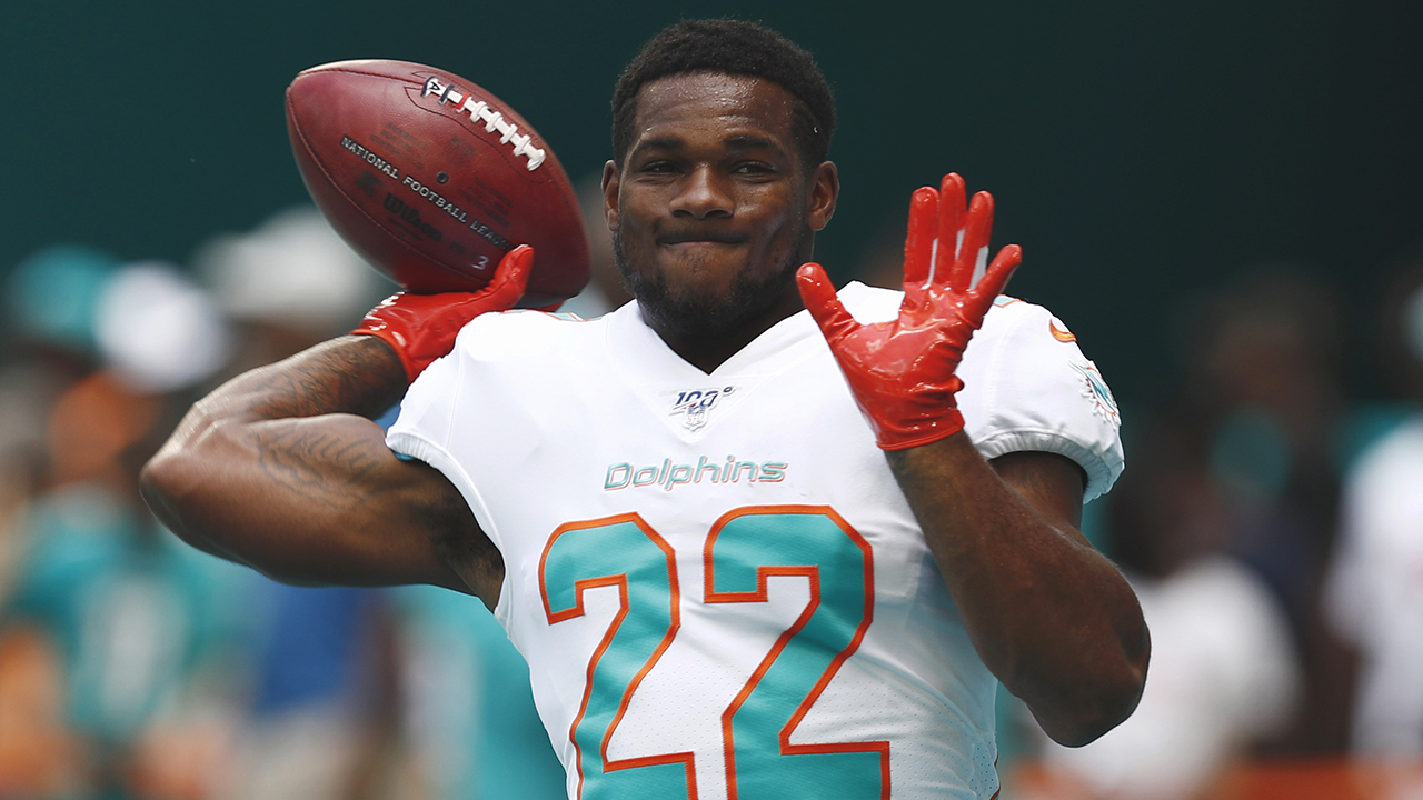 Miami Dolphins release Mark Walton after he reportedly assaulted pregnant girlfriend