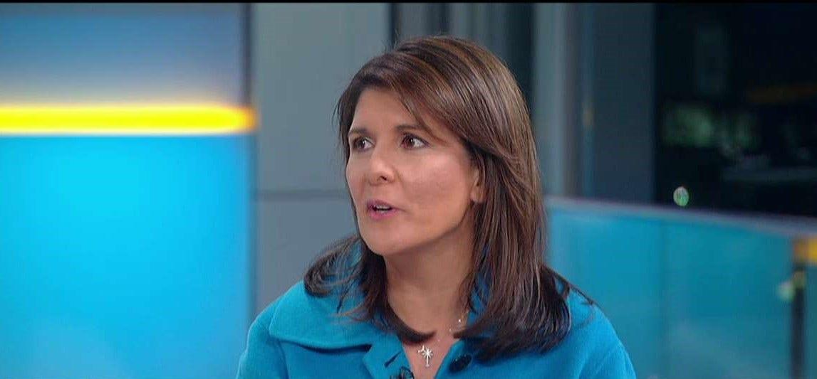 Nikki Haley, die auf Ihren job als UN-Botschafter: Präsident Trump war 'wahr zu seinem Wort'