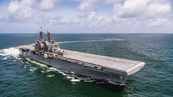 New F-35-armed Navy amphibious assault ship completes trials