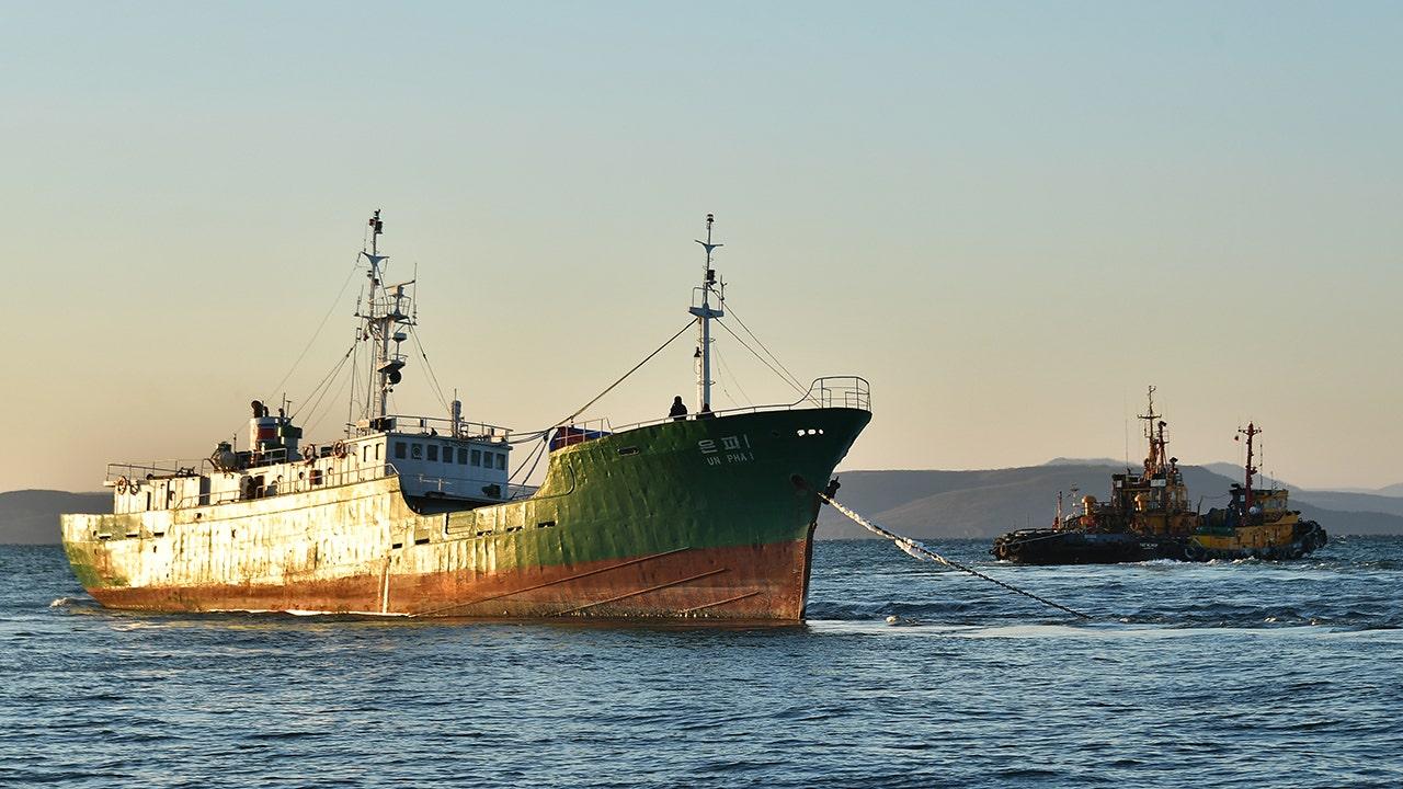 North Korean fishermen accused of