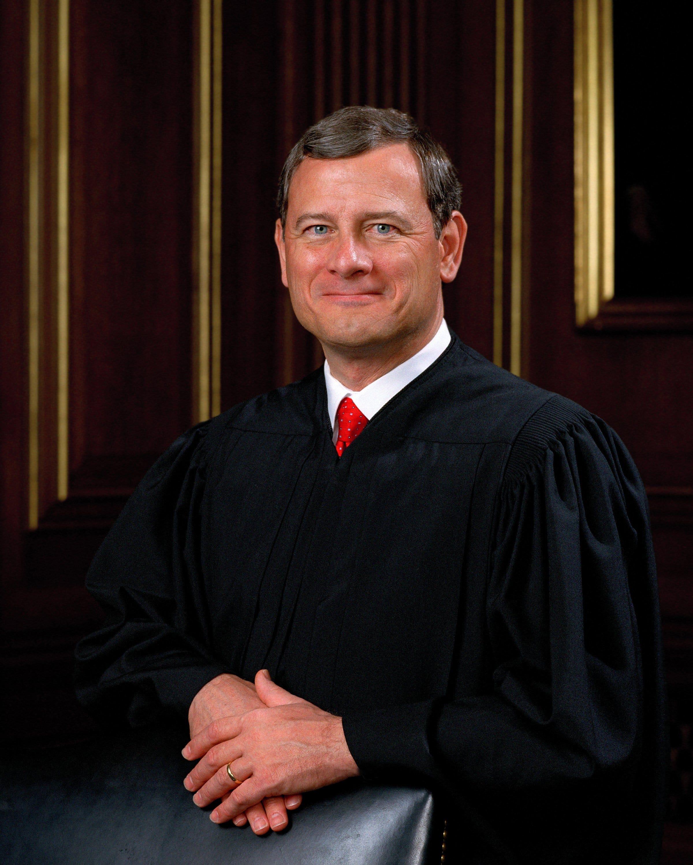DACA Köpfe, um den obersten Gerichtshof und alle Augen sind auf Chief Justice John Roberts