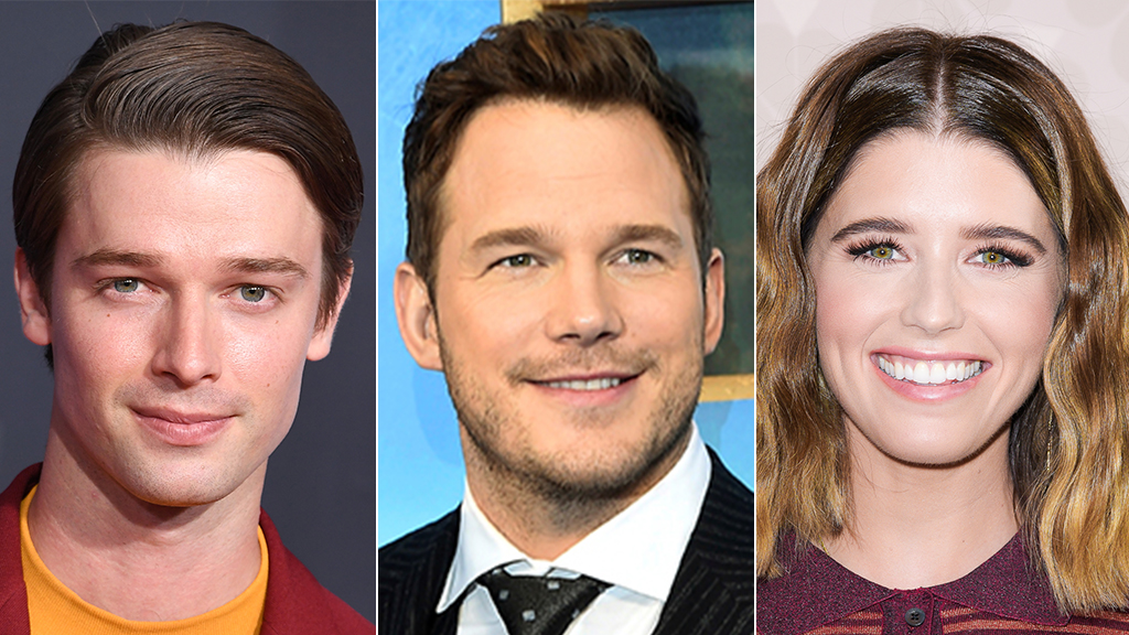 Westlake Legal Group Patrick-Pratt-Katherine-Getty-Reuters-Getty Patrick Schwarzenegger on family's new blended Thanksgiving plans with Chris Pratt and sister Katherine Jessica Napoli fox-news/person/chris-pratt fox-news/entertainment/genres/family fox-news/entertainment fox news fnc/entertainment fnc article 9aa509ad-1676-55ea-a2b3-3239d6ffd954