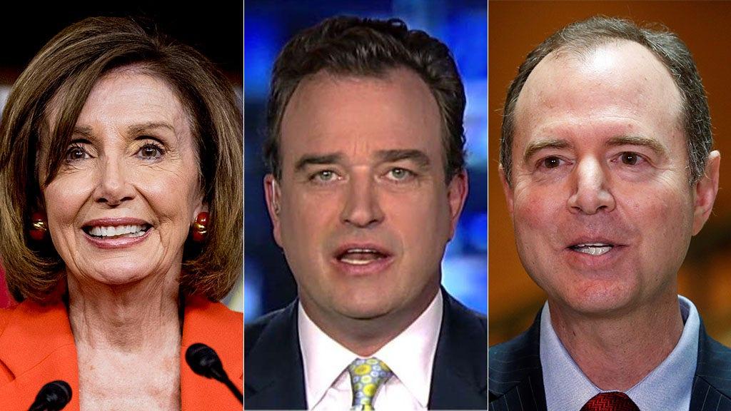 Westlake Legal Group Pelosi-Charlie-Schiff-AP-FOX-REUTERS Dems more focused on resisting than legislating, says Charlie Hurt Julia Musto fox-news/us/congress fox-news/shows/fox-friends-weekend fox-news/politics/trump-impeachment-inquiry fox-news/politics/elections/senate fox-news/politics/elections/democrats fox-news/person/donald-trump fox-news/media/fox-news-flash fox news fnc/media fnc b41b80c5-4b98-5f84-bbdc-15dc5d42f36b article