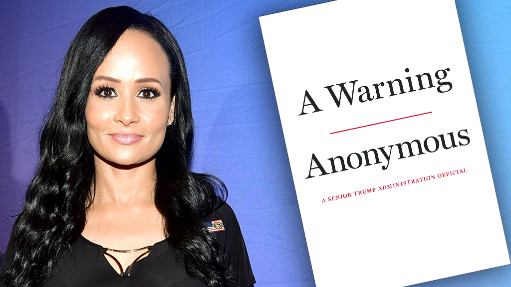 Katrina Pierson makes bombshell accusation: 'Anonymous' anti-Trump book author is 'senior advisor' in Admin