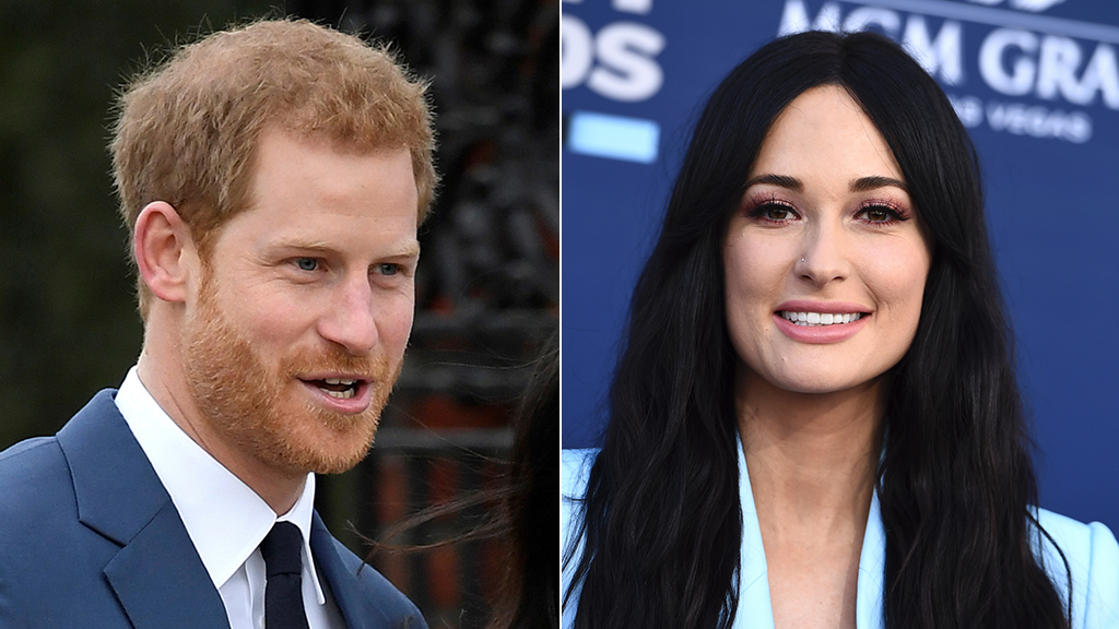 Kacey Musgraves' high-five with Prince Harry got her in trouble: 'I didn't know'