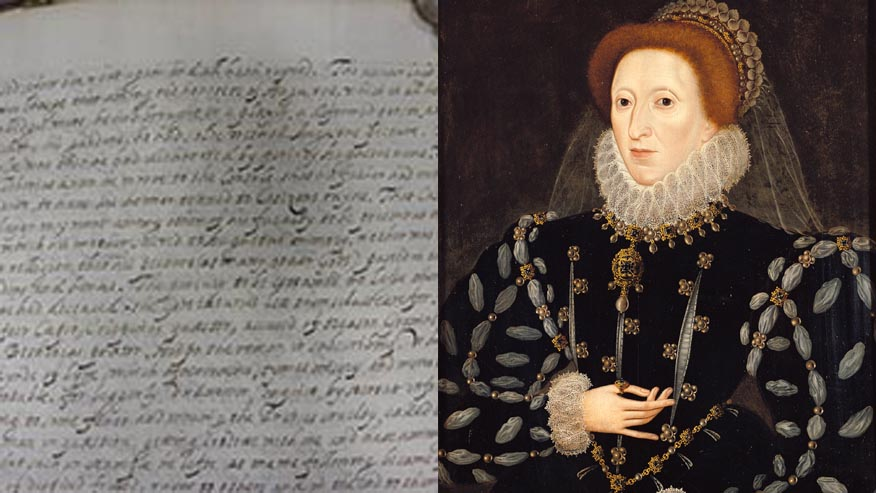 Elizabeth I unmasked as author of mysterious manuscript
