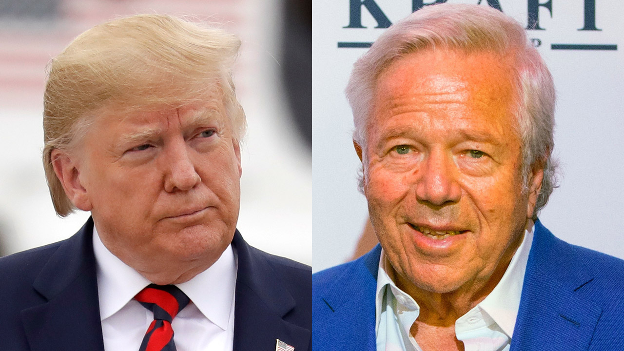 Westlake Legal Group Robert-Kraft-trump New England Patriots' Robert Kraft heard blasting Trump in 2017 NFL meeting, audio reveals Ryan Gaydos fox-news/sports/nfl/new-england-patriots fox-news/sports/nfl fox-news/person/donald-trump fox news fnc/sports fnc article 40019099-b786-52c7-8de9-e264db487522