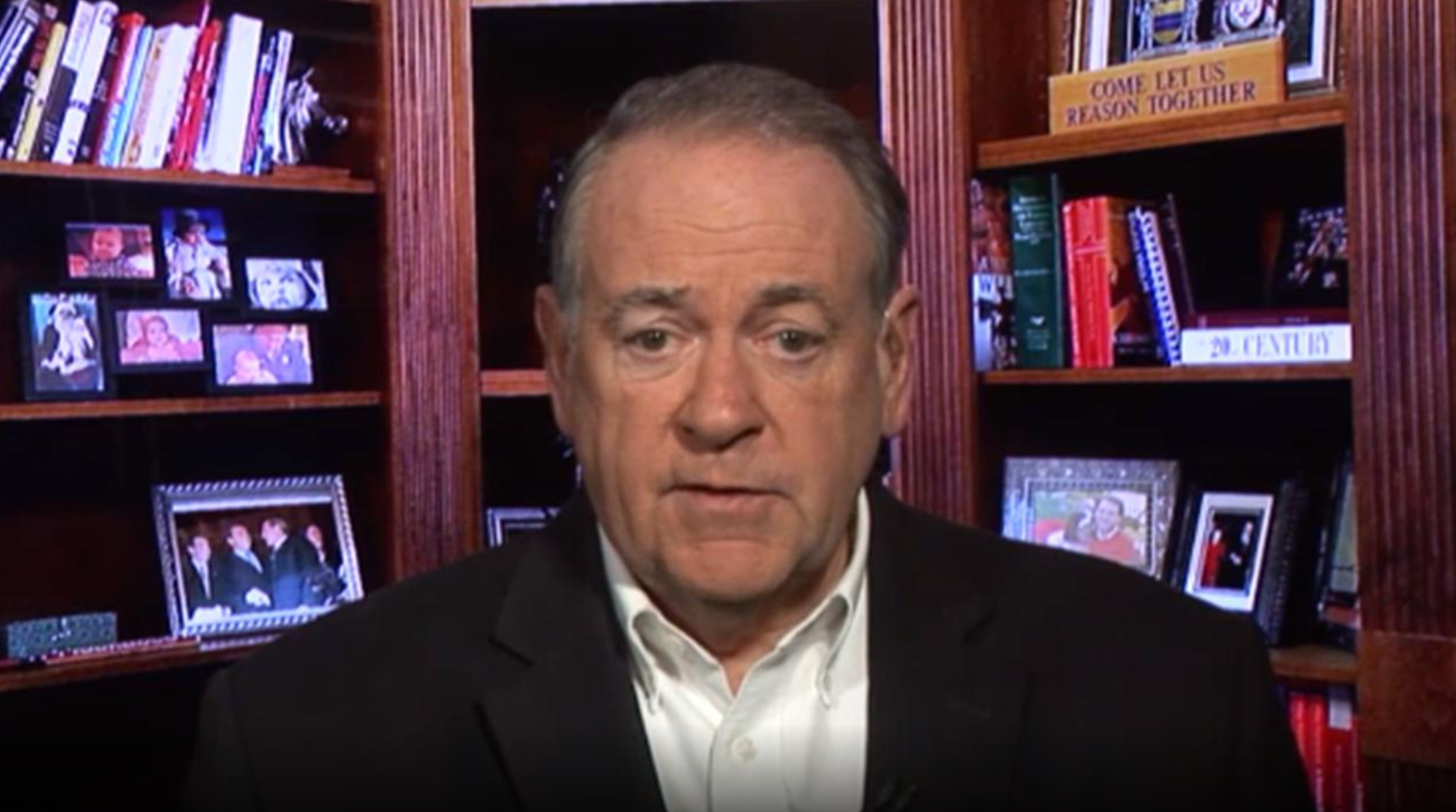 'Show him the tape': Huckabee blasts Swalwell for claiming Biden allegations are 'conspiracy theories'