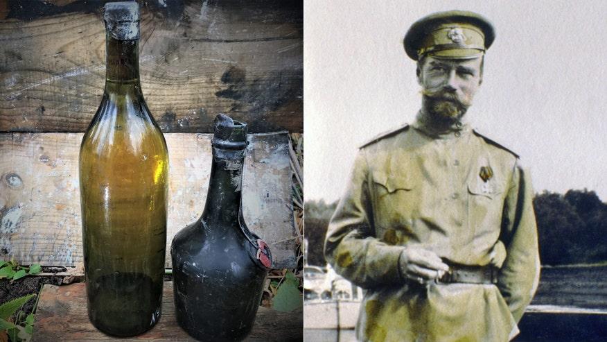 Xác tàu đắm tiết lộ kho báu đáng sợ của nó: Rượu Czar Hồi 100 tuổi được trục vớt từ xác tàu WW I