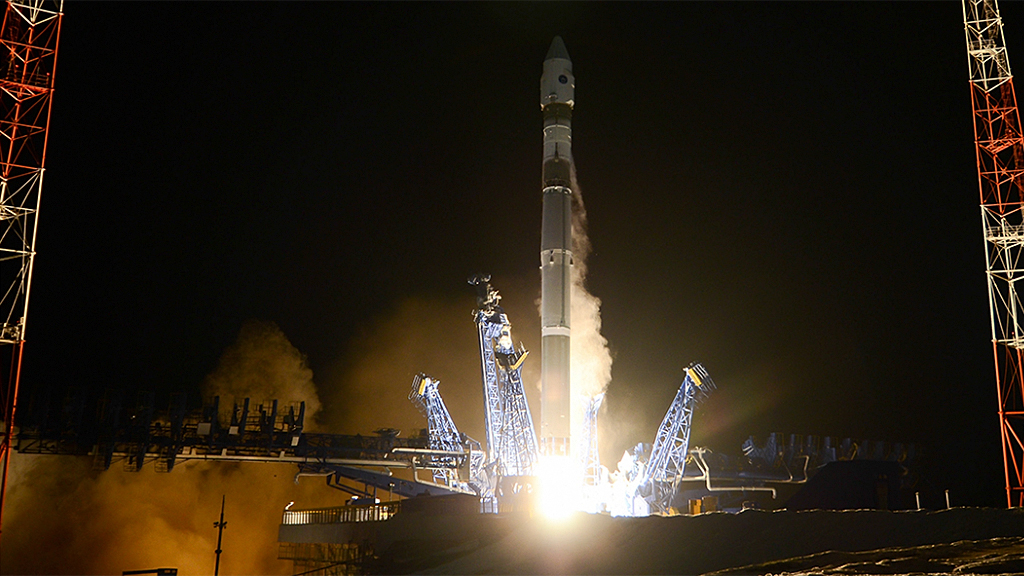 Russia launches secret military surveillance satellite to 'monitor' other satellites