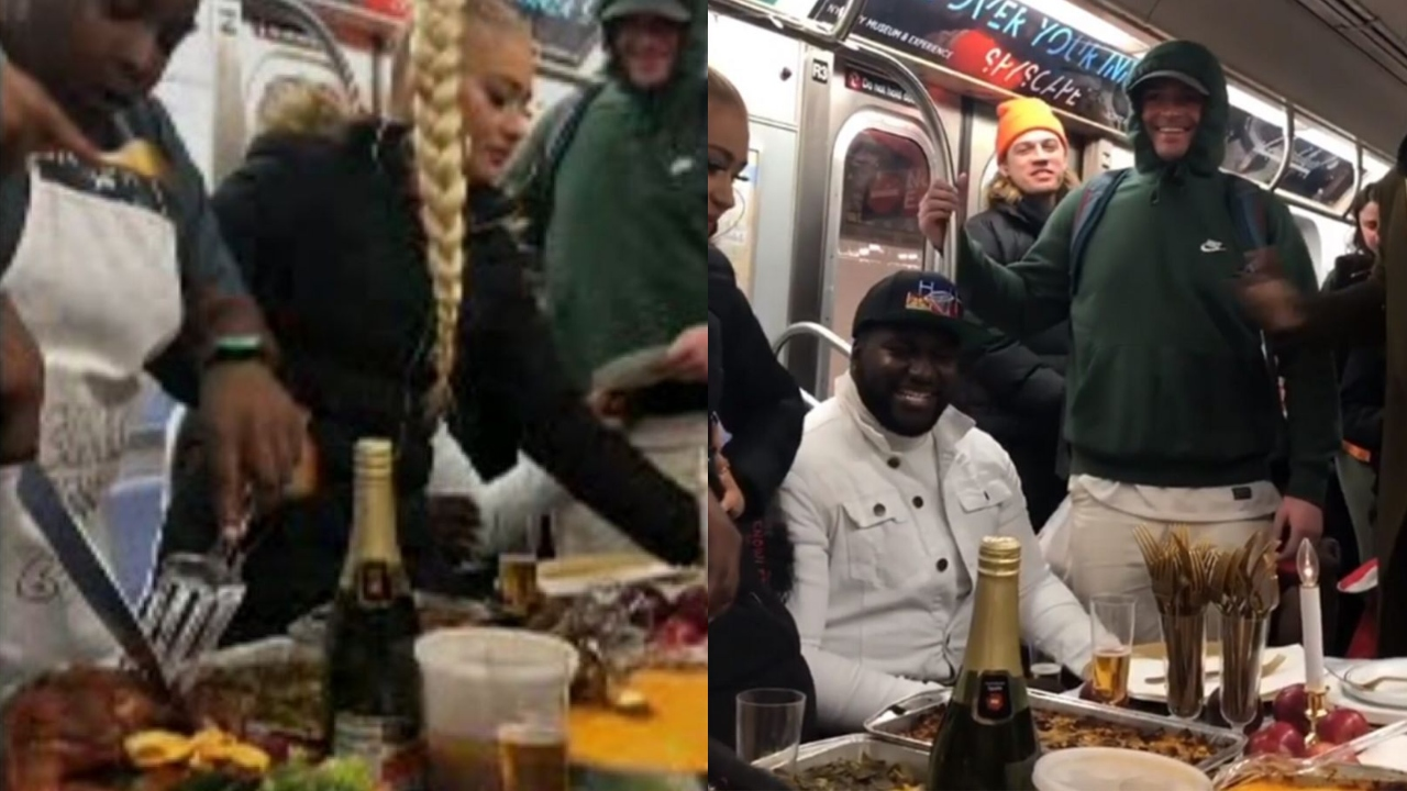 Chefs reveal story behind viral Thanksgiving subway video