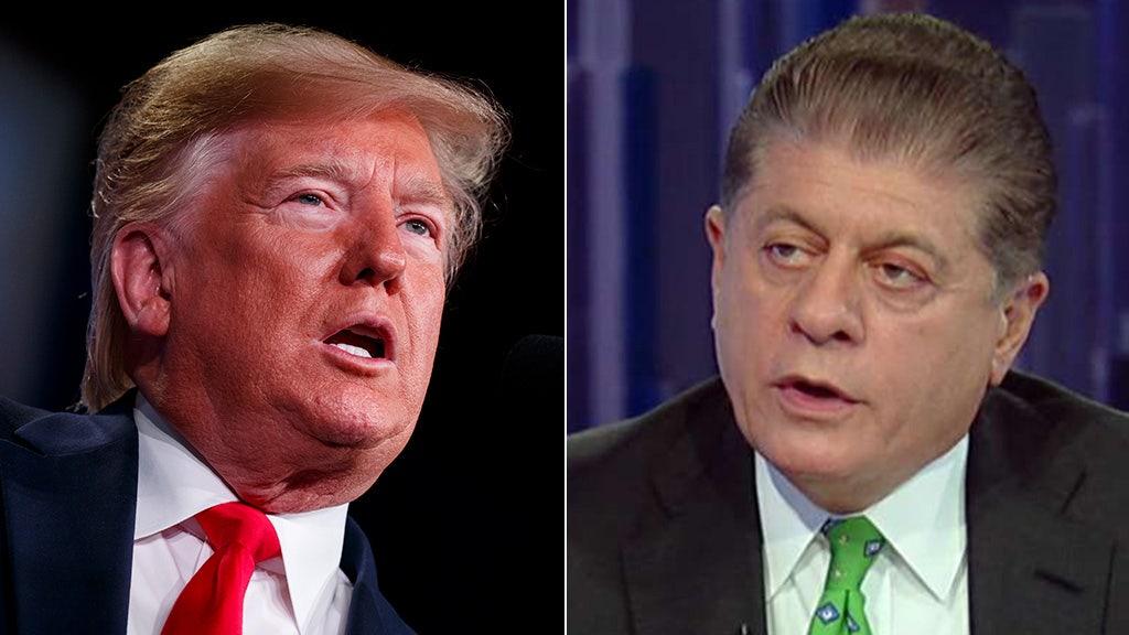 Republicans offered more participation in Trump impeachment inquiry than in Nixon's, Judge Napolitano says
