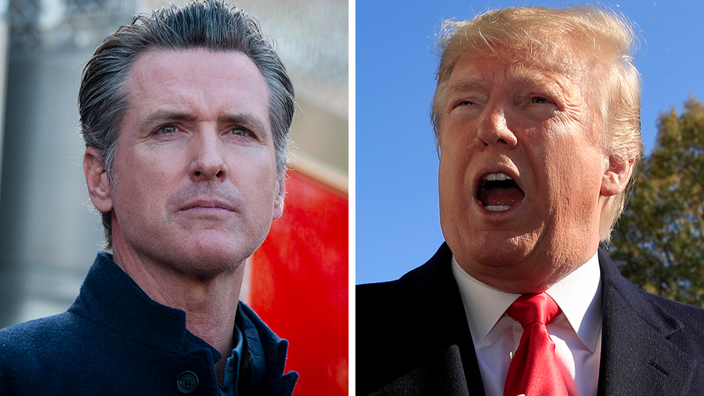 トランプ警告Newsomの場合カリフォルニアホームレス危機feds