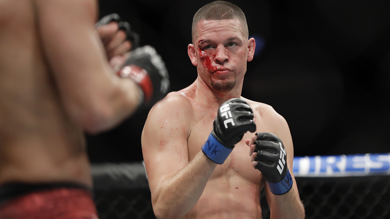 Nate Diaz appears to be walking away from UFC after loss to Jorge Masvidal