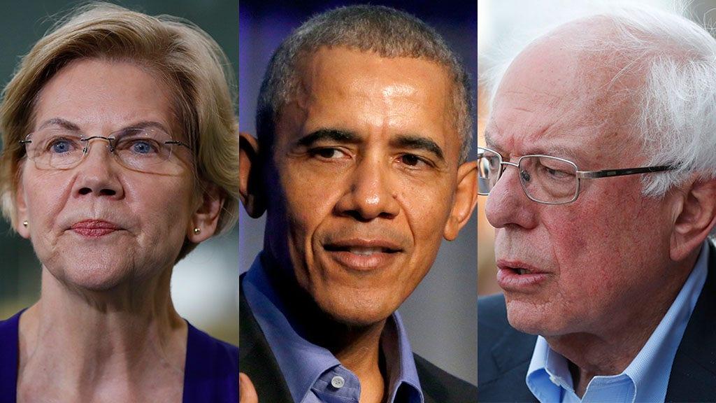 Obama nimmt verschleiert Schuss auf Warren und Sanders, warnt 2020 Dems Amerikaner wollen nicht