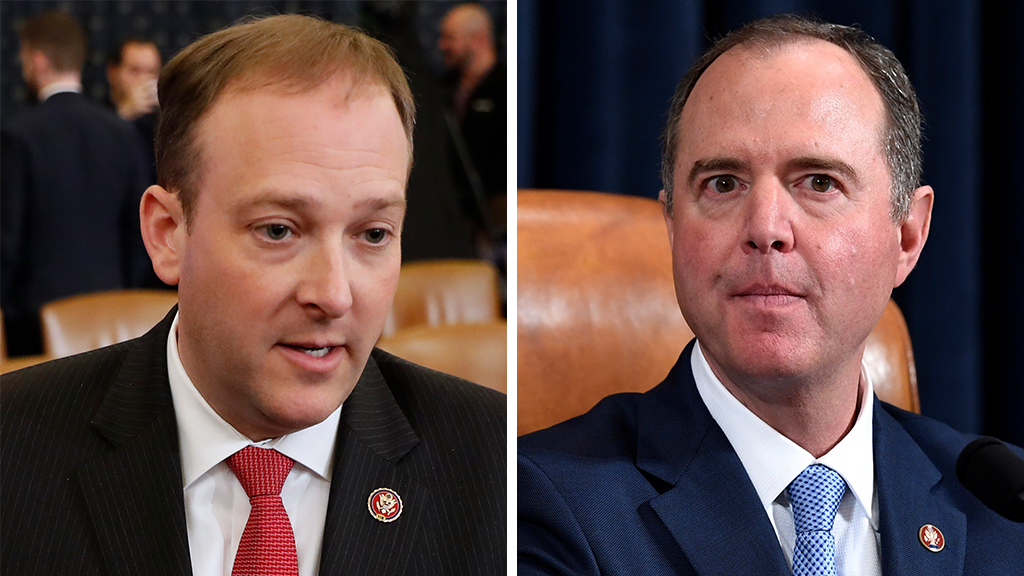 Westlake Legal Group Zeldin-Schiff_AP Lee Zeldin on impeachment: 'Adam Schiff really does think that many Americans are idiots' Nick Givas fox-news/shows/americas-news-hq fox-news/politics/trump-impeachment-inquiry fox-news/politics/house-of-representatives fox-news/person/adam-schiff fox-news/media/fox-news-flash fox news fnc/media fnc article 708cfab1-ff6a-57c0-93e4-757f5ad5867b