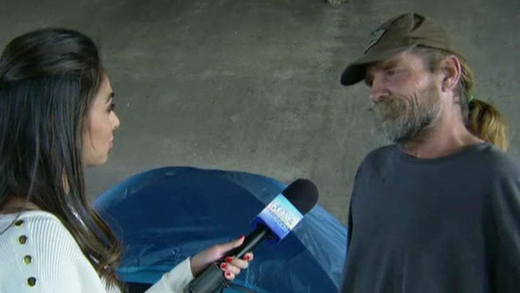 Als Obdachlosen-camps weiter sprießen in Austin, Gov. Abbott Bestellungen Aufräumarbeiten