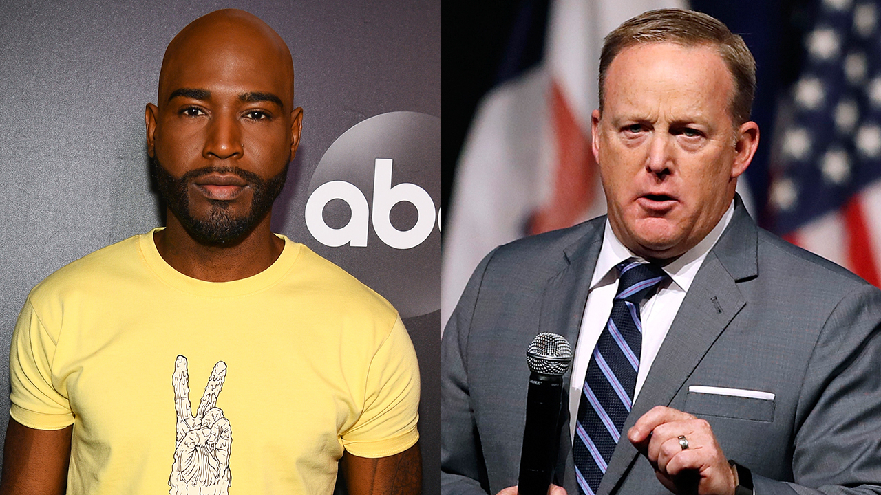 'DWTS' contestants Karamo Brown, Sean Spicer shared 'respectful conversations'