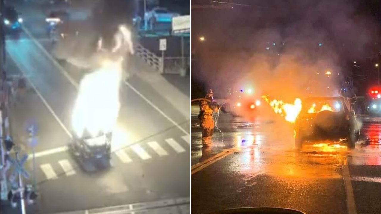 Connecticut man pulls over to rescue driver from burning vehicle: 'Words can't describe this act'