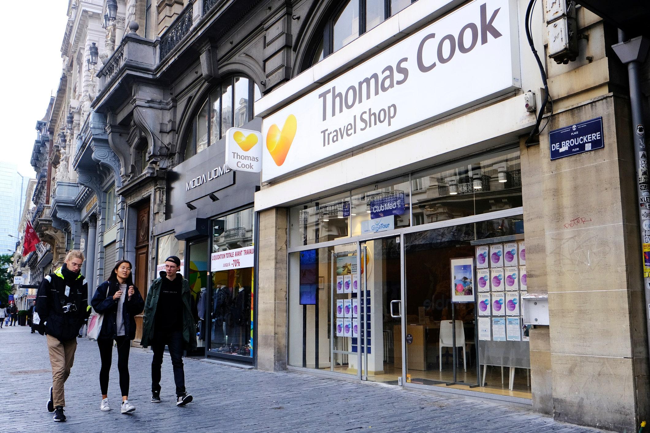 Thomas Cook-Marke kaufte die chinesische Firma Fosun Tourismus