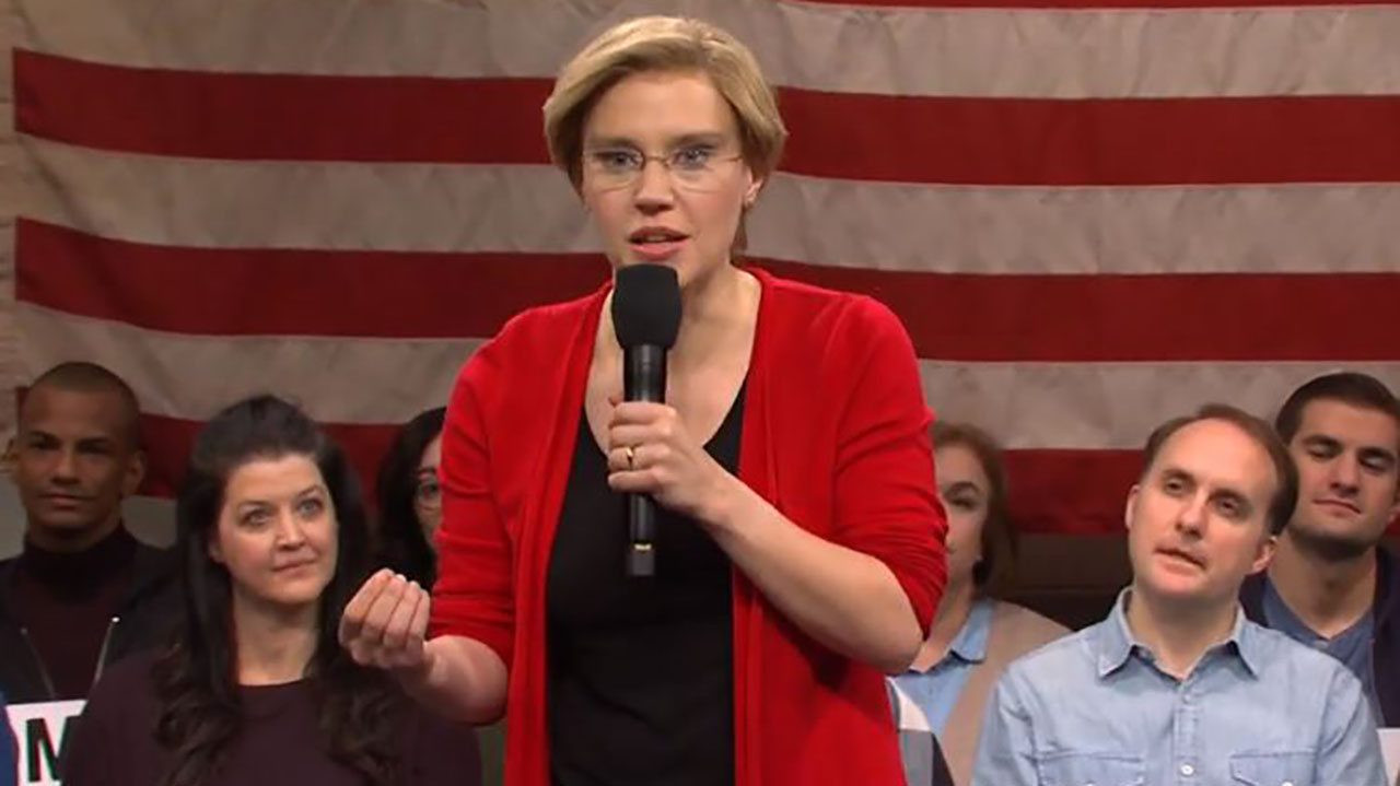 SNL mocks Warren's $52T 'Medicare-for-all': 'When the numbers are this big they're just pretend!'