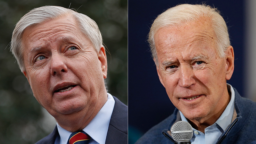 Westlake Legal Group lindsey-graham-joe-biden-AP-1 Lindsey Graham explains launching probe into Bidens: 'Nobody in the media really gives a damn' Nick Givas fox-news/world/conflicts/ukraine fox-news/politics/2020-presidential-election fox-news/person/lindsey-graham fox-news/person/joe-biden fox-news/media/fox-news-flash fox news fnc/media fnc article 104835d4-5595-52c1-b6b2-bd52401b713c