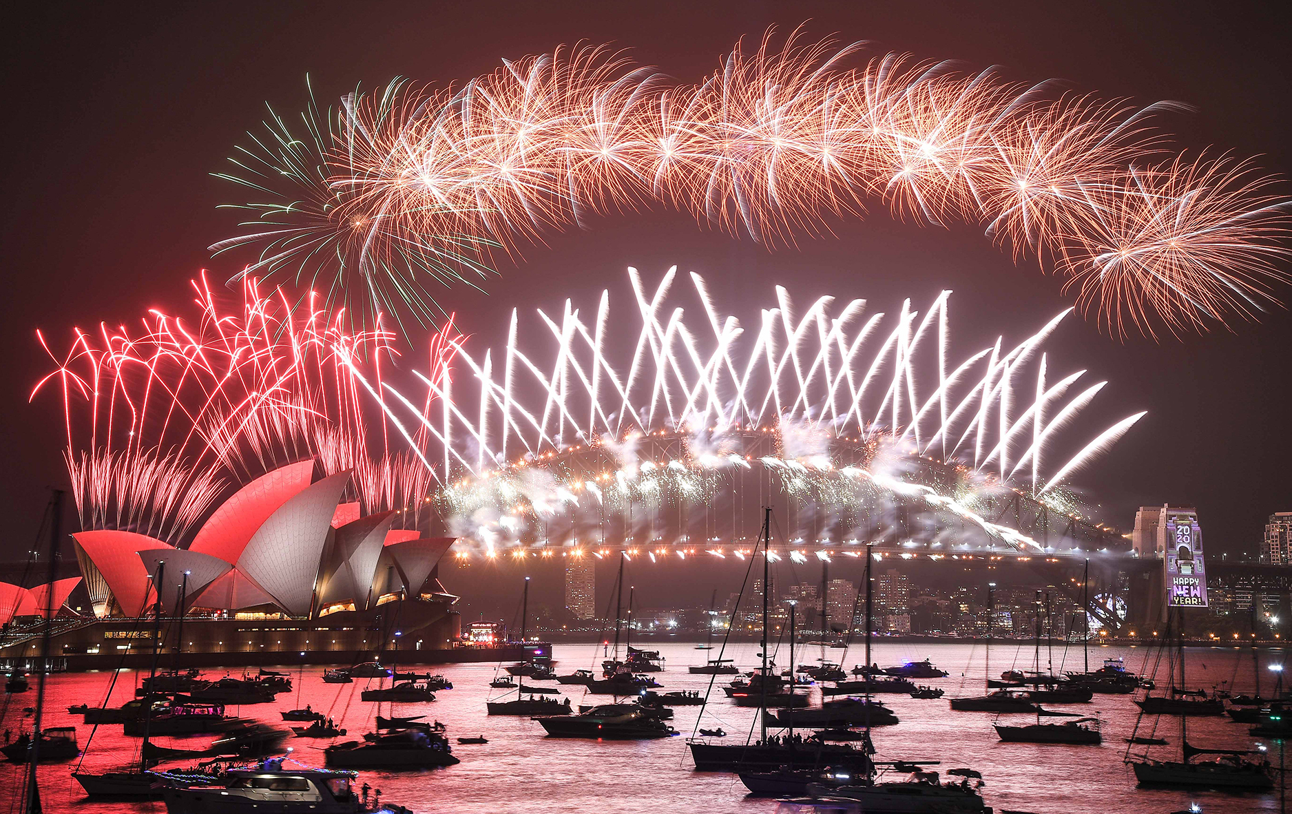Pictures: New Year's Eve celebrations around the world