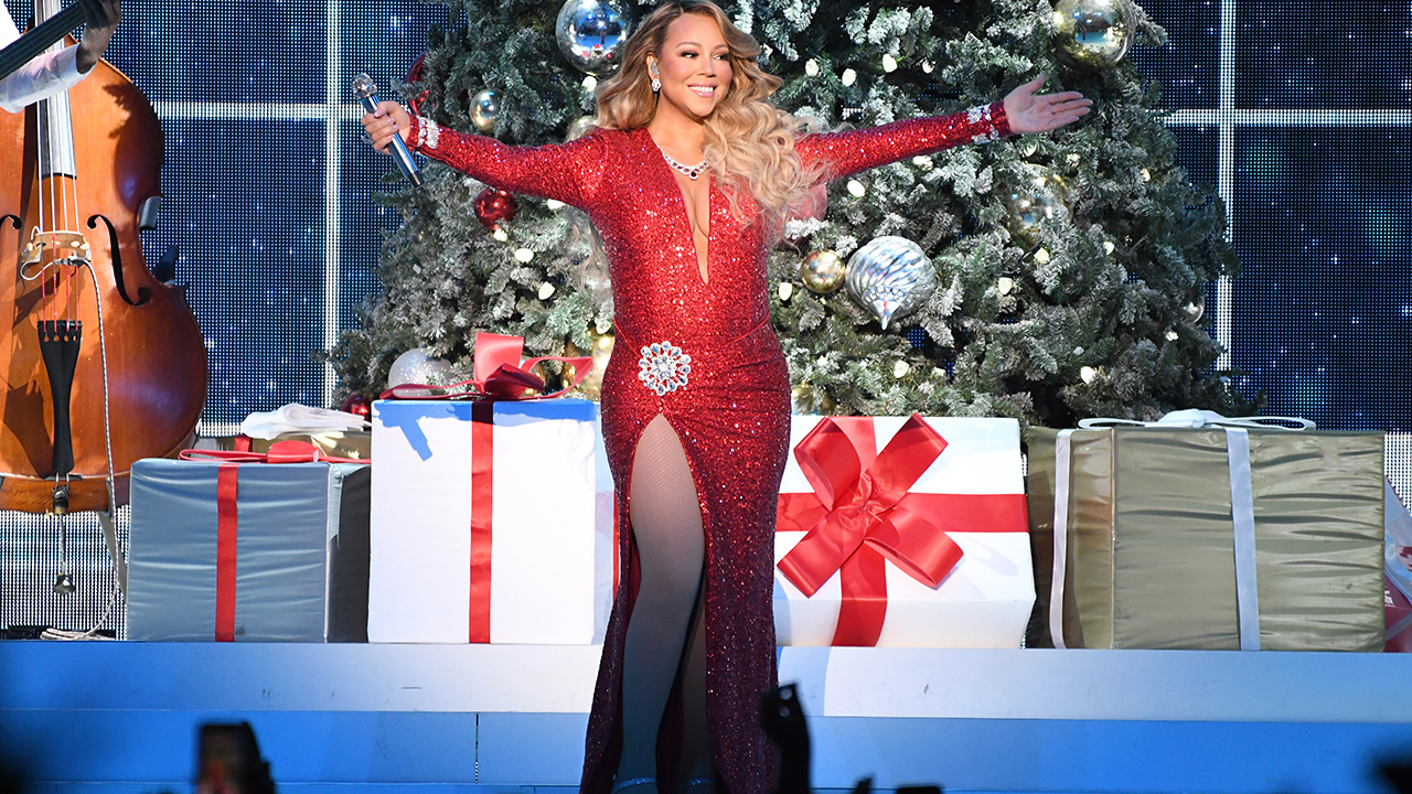 Westlake Legal Group 61ed00d0-Mariah-Carey-cropped Mariah Carey shares new 'All I Want for Christmas is You' music video featuring dozens of A-list celebs Melissa Roberto fox-news/person/mariah-carey fox-news/entertainment/music fox-news/entertainment/celebrity-news fox news fnc/entertainment fnc da9ed299-9de3-5b3d-b630-058b8f49a5ca article