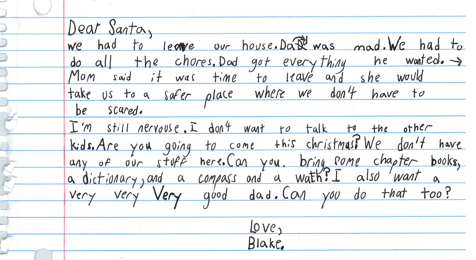 79198022 2926947804004407 3729781150676156416 o - Texas woman at domestic violence shelter finds son's letter to Santa: 'Dad was mad'