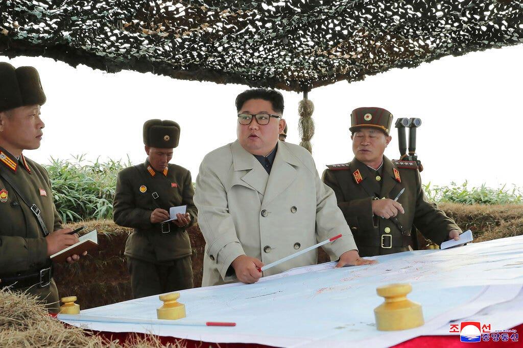 Westlake Legal Group AP19329102479800-1 North Korea warns US will choose its 'Christmas gift' if Trump fails to meet looming nuclear deadline fox-news/world/conflicts/north-korea fox news fnc/world fnc Danielle Wallace article 378c788e-734f-552b-8d31-f17e18f5c722