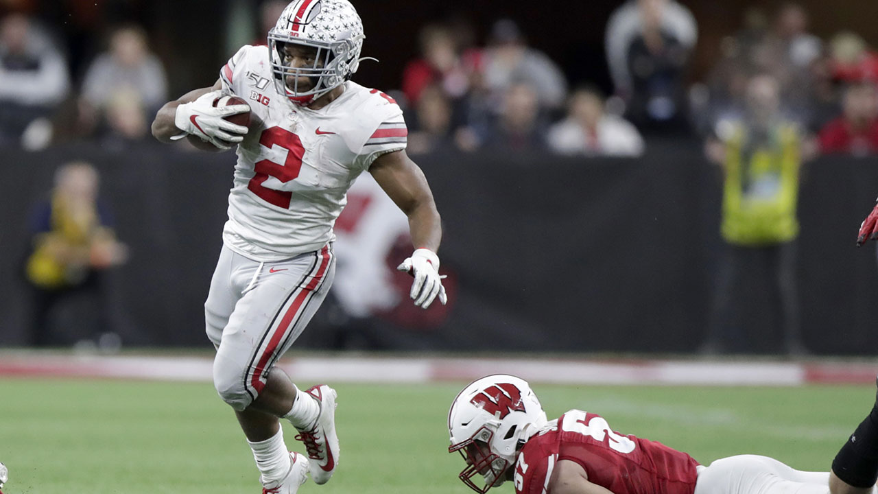 Ohio State rallies to beat Wisconsin 34-21 for Big Ten crown