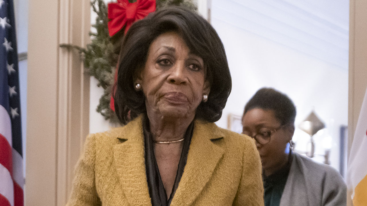 Westlake Legal Group AP19352579141486 Maxine Waters says Trump will invite Putin to the White House if the Senate doesn't remove him fox-news/world/personalities/vladimir-putin fox-news/politics fox-news/person/maxine-waters fox-news/person/donald-trump fox news fnc/politics fnc Brie Stimson article 94ca3402-a854-54ba-ae01-06bf9606ecfa