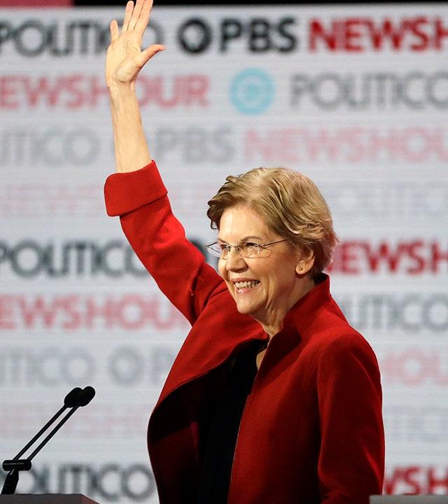 Warren, 70, balasan, dia akan menjadi 'wanita termuda' presiden saat debat bicara ternyata untuk usia