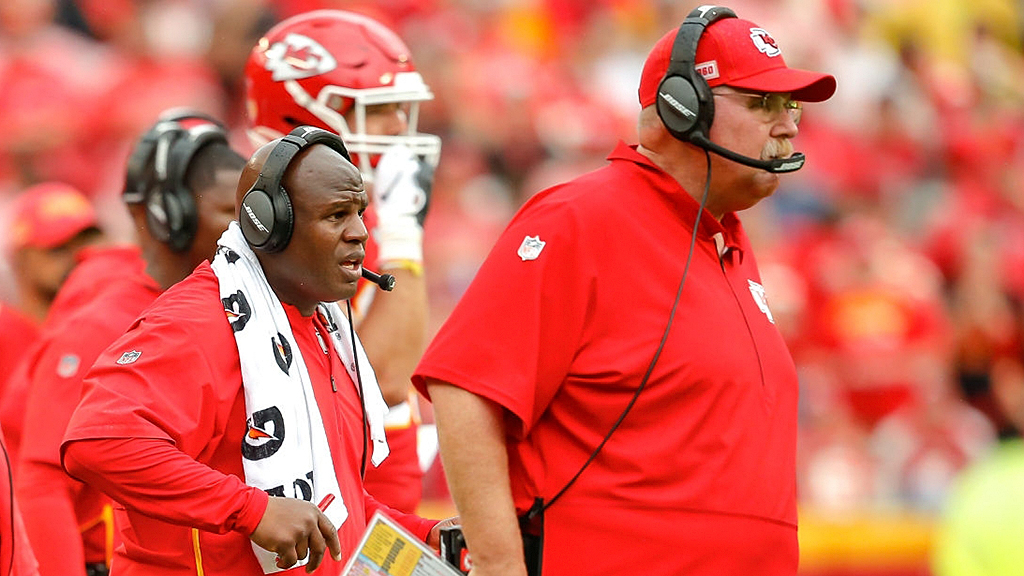 Kansas City Chiefs' Andy Reid calls on teams to hire Eric Bieniemy as head coach