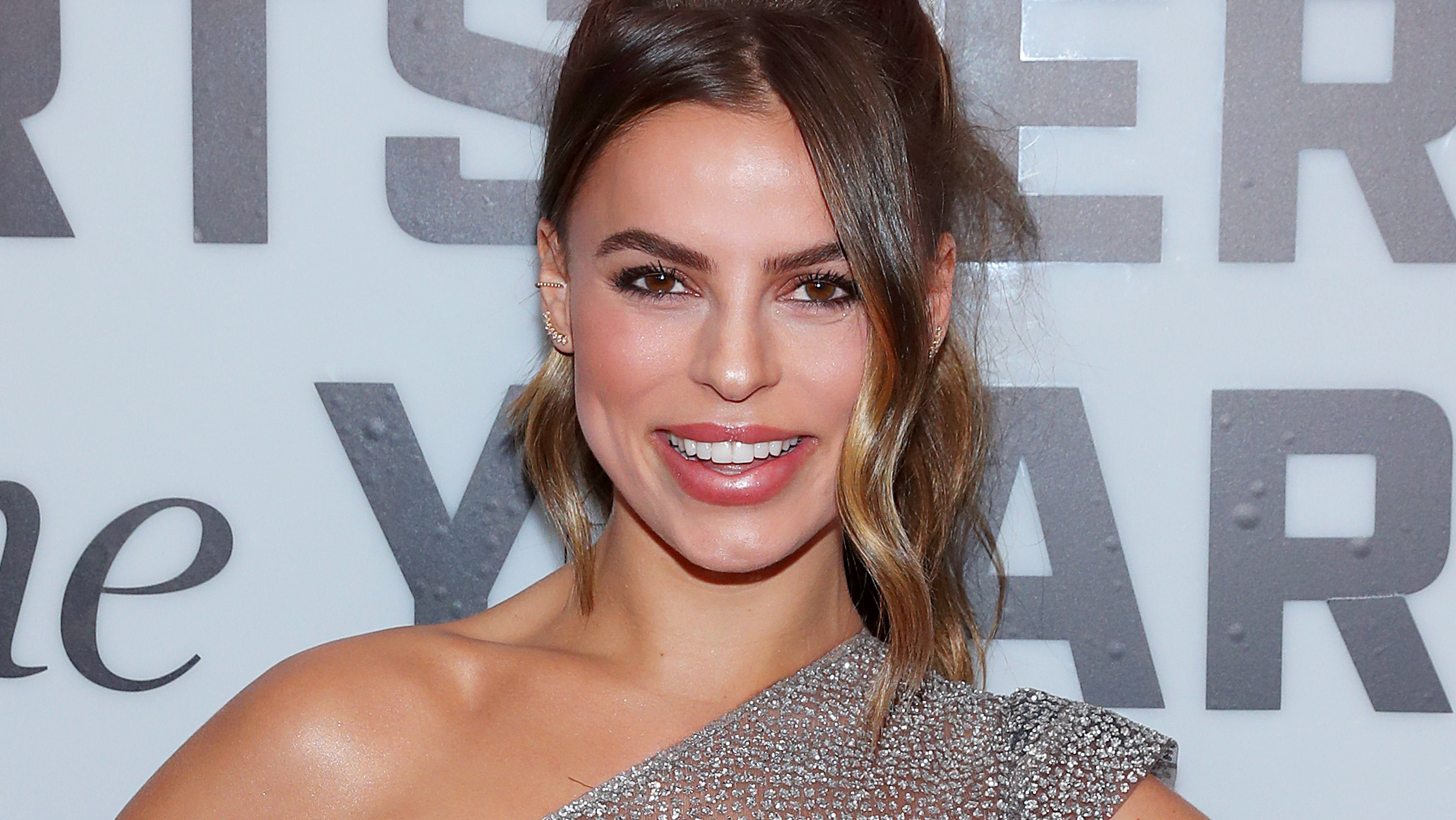 Sports Illustrated model Brooks Nader bares all in completely see-through dress at awards show