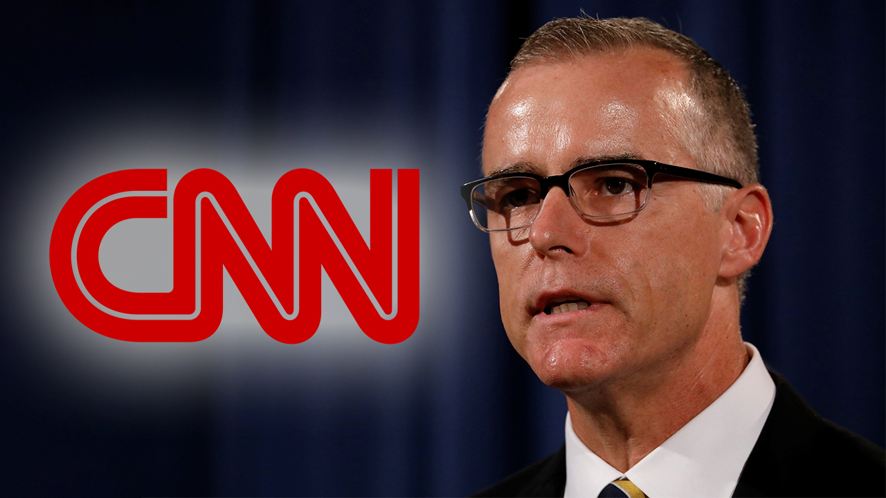CNN silent after it was revealed correspondent Andrew McCabe apologized for lying to investigators