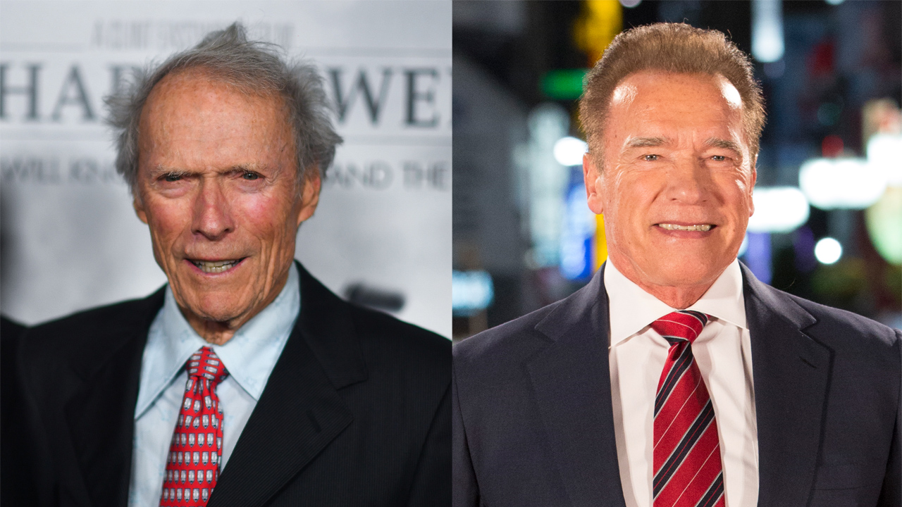 Westlake Legal Group Clint-Eastwood-Arnold-Schwarzenegger Clint Eastwood and Arnold Schwarzenegger spend time together on the slopes Nate Day fox-news/entertainment/celebrity-news fox-news/entertainment fox news fnc/entertainment fnc article 5aa987de-1a1e-54c0-95db-98a059a26581