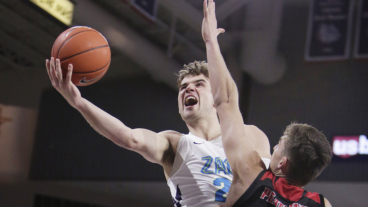 Westlake Legal Group Corey-Kispert Gonzaga stays No. 1 in men's AP Top 25; Oregon into top 5 fox-news/sports/ncaa/oregon-ducks fox-news/sports/ncaa/ohio-state-buckeyes fox-news/sports/ncaa/kansas-jayhawks fox-news/sports/ncaa/duke-blue-devils fox-news/sports/ncaa-bk fox-news/sports/ncaa fnc/sports fnc Associated Press article a9befd20-7ed9-578c-88b5-cb694e99dfa0