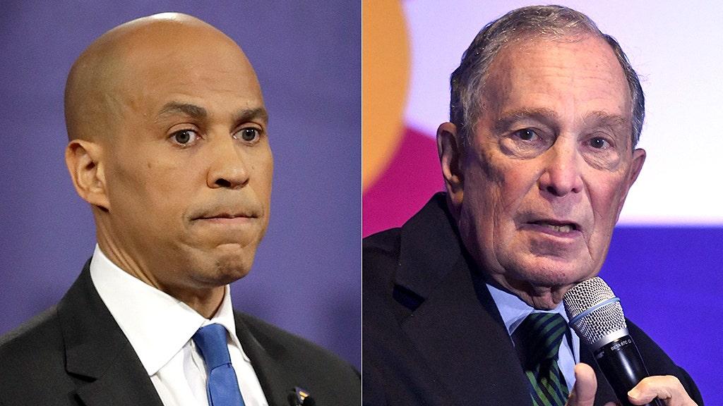 Booker 'taken aback' after Bloomberg calls him 'very well spoken'