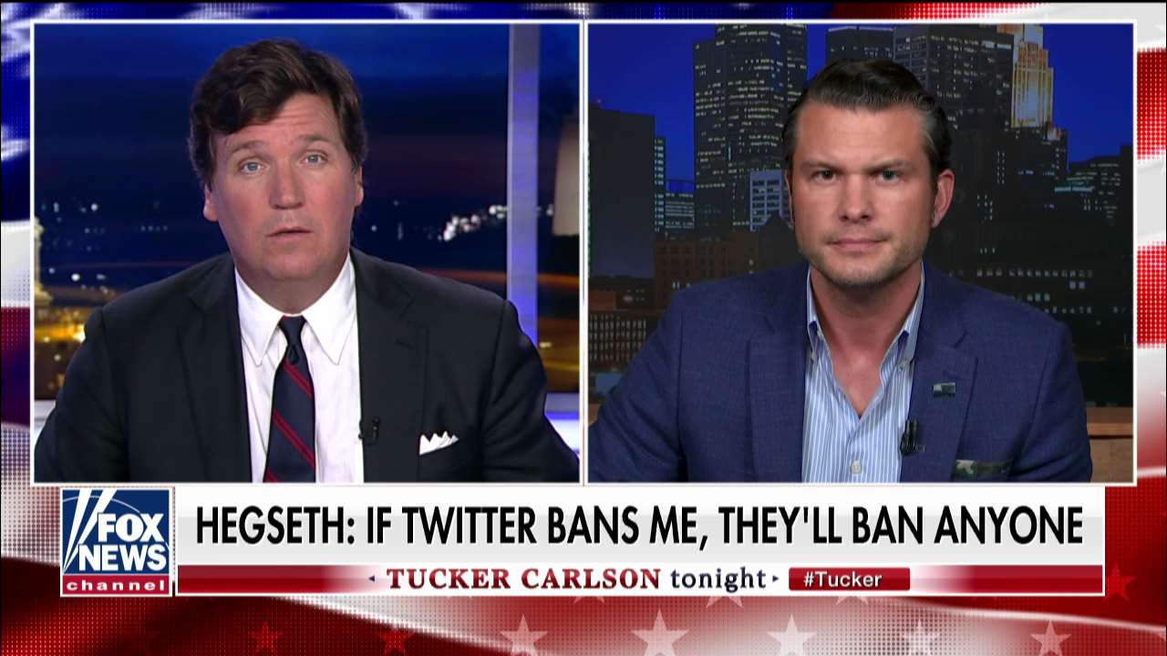 Pete Hegseth responds to being kicked off Twitter after Pensacola attack tweet