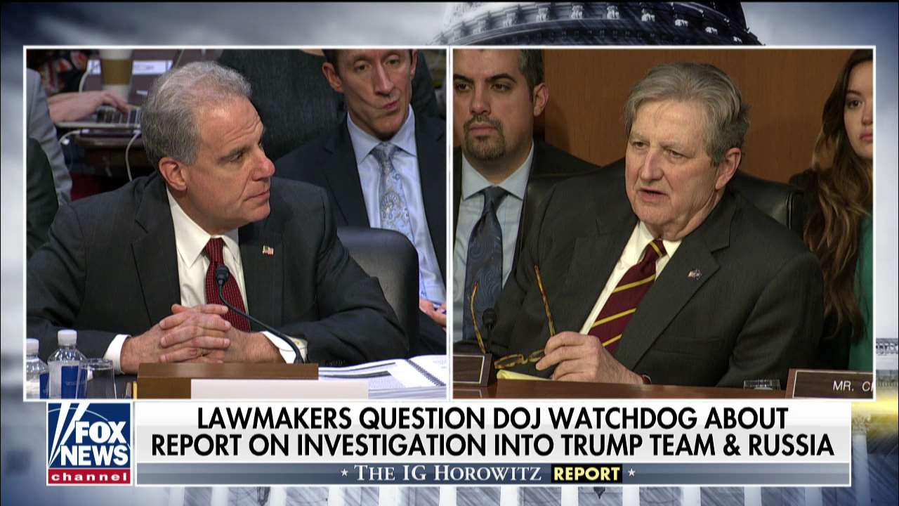 Sen. Kennedy tells Horowitz: 'I thought I had dropped acid' while reading FISA report