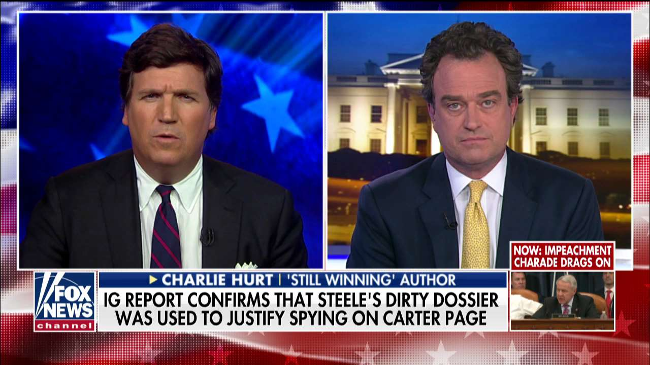 Charlie Hurt: Coverage of Steele dossier 'the darkest moment in American journalism history'